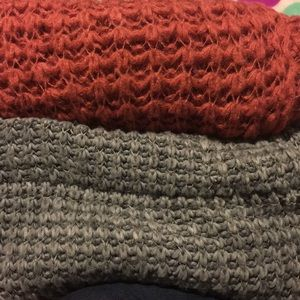 Knitted scarfs BUNDLE